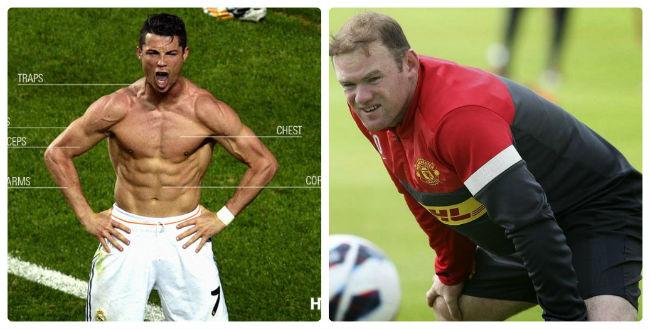 Đỉnh cao Ronaldo, vực thẳm Rooney: Sự tương phản nghiệt ngã - 4