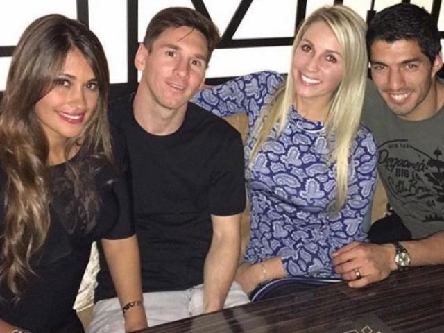 Có bồ đại gia, bạn gái Messi vẫn hùn vốn với vợ Suarez bán giày