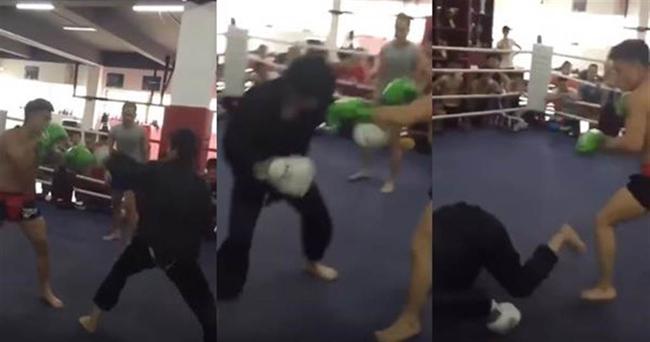 7 giây MMA hạ cao thủ Võ Đang: Võ Trung Quốc lại bị sỉ nhục - 1