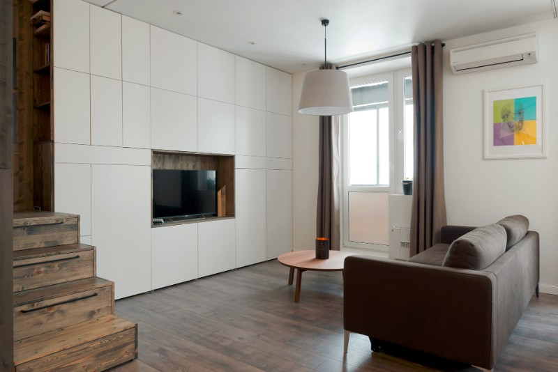 """""""Hộp ngủ"""" sáng tạo cho căn hộ 35m2 rộng khó tin - 2"""