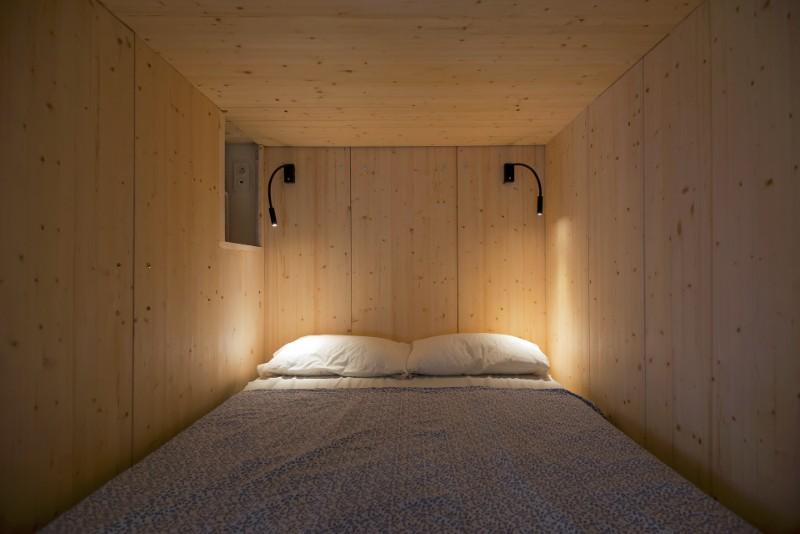 """""""Hộp ngủ"""" sáng tạo cho căn hộ 35m2 rộng khó tin - 7"""