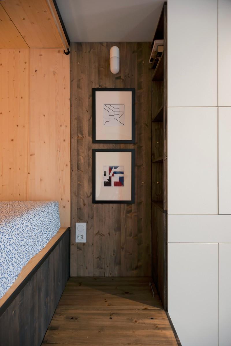 """""""Hộp ngủ"""" sáng tạo cho căn hộ 35m2 rộng khó tin - 9"""