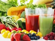 Sức khỏe đời sống - Chuyên gia tiết lộ mặt trái của nước ép hoa quả