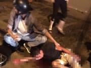 An ninh Xã hội - Chém nhau kinh hoàng tại Hà Nội sau va chạm giao thông