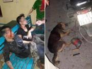 An ninh Xã hội - Bị dân vây bắt, nghi phạm trộm chó giả chết để tránh đòn