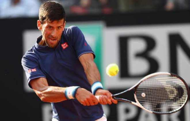 Djokovic - Bedene: Choáng tinh thần sau tie-break (V2 Rome Masters) - 1