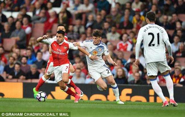 Arsenal - Sunderland: Bùng nổ 10 phút định đoạt 11