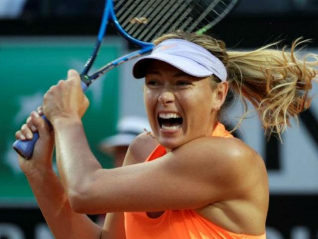 Sharapova KHÔNG được dự Roland Garros, bỏ họp báo - 2