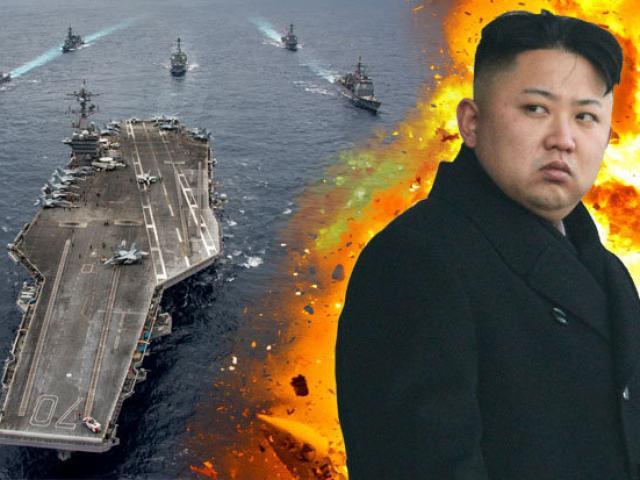 """Mỹ điều thêm tàu sân bay """"khủng"""" tới gần Triều Tiên"""