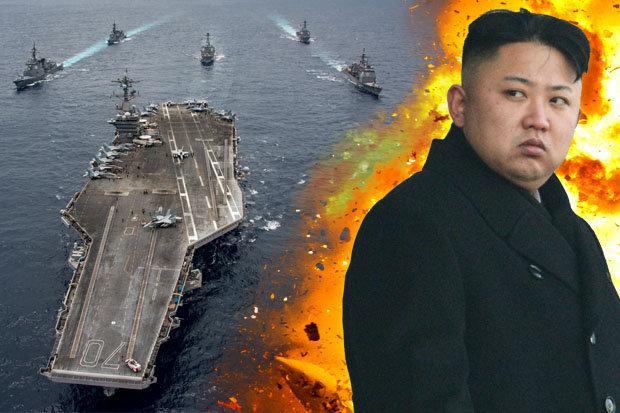 """Mỹ điều thêm tàu sân bay """"khủng"""" tới gần Triều Tiên - 1"""