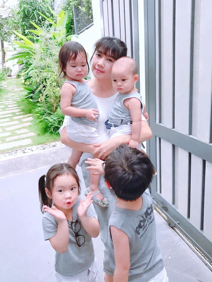 """Đã 4 con, vợ Lý Hải cứ """"xanh rờn"""" cả trong lẫn ngoài thế đấy - 3"""