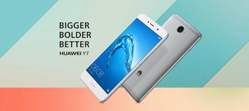 Huawei Y7 dùng pin 4000 mAh, chạy Android 7.0 Nougat ra mắt - 1