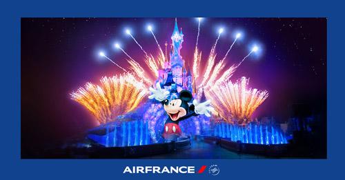 Bay Air France, trúng kì nghỉ tại Disneyland Paris thần tiên - 1