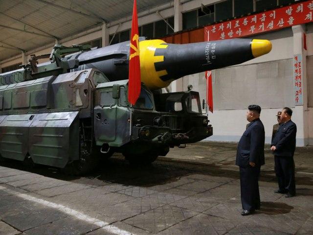 Thấy gì từ ảnh chụp tên lửa mới thử của Triều Tiên? - 1