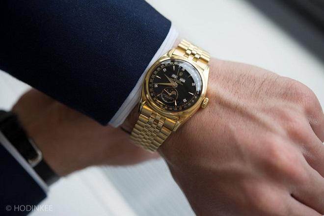 Cận cảnh đồng hồ huyền thoại 5 triệu USD của vua Bảo Đại - 1