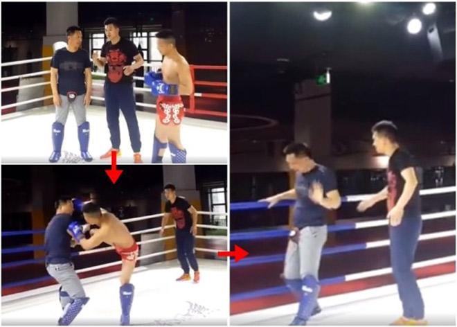 Muay Thái hành hạ Bát Quái Chưởng: Võ Trung Quốc lại đau vì MMA - 1