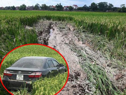 """Nóng trong ngày: Ô tô đỗ trong ngõ bị sơn chữ """"NGU"""" trên thân xe - 3"""