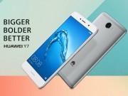 Huawei Y7 dùng pin 4000 mAh, chạy Android 7.0 Nougat ra mắt