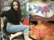 Bạn trẻ - Cuộc sống - Chân dung gái trẻ rước họa vì hình xăm trước ngực