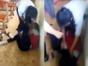 Nữ sinh bị đánh bầm dập vì câu  chúc anh ngủ ngon
