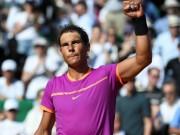 """Thể thao - Nadal - Almagro: Đã hay còn được """"trời"""" giúp (V2 Rome Masters)"""