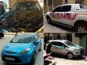 """Tin tức trong ngày - Những vụ """"khủng bố"""" ô tô đậu chắn lối đi khiến chủ xe """"nổi đóa"""""""