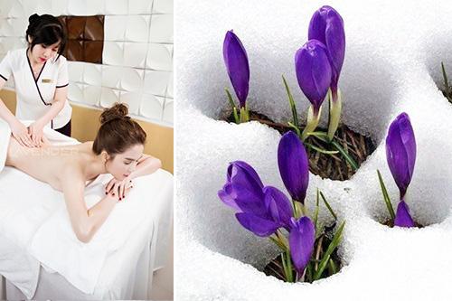 Ngọc Trinh thích thú trải nghiệm công nghệ tắm trắng Bio Light 4D - 5