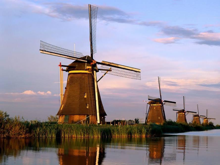 """""""Bí mật"""" ít người biết về cối xay gió - biểu tượng của người Hà Lan - 1"""