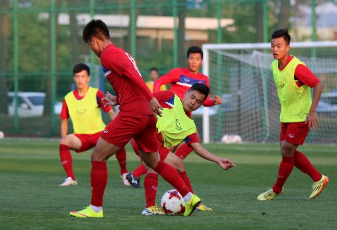 """U20 Việt Nam: """"Đàn em"""" Công Phượng băng chân tập cực sung - 6"""