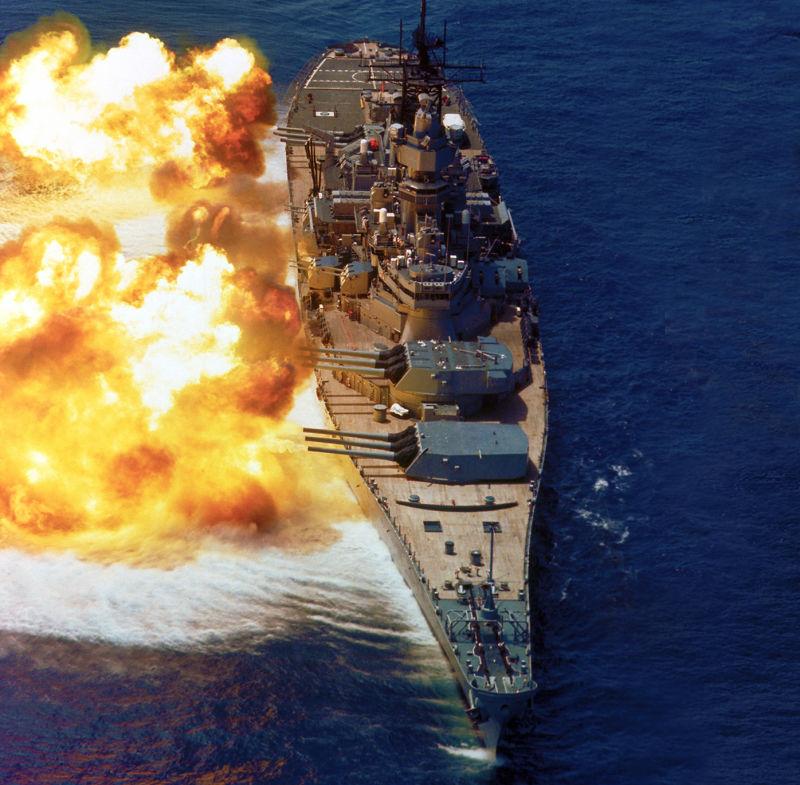 Mỹ hồi sinh siêu thiết giáp hạm đối phó Nga-Trung Quốc? - 2