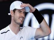 Tồi tệ Murray: Nadal, Djokovic lăm le ngôi số 1 thế giới