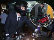 Phim - Johnny Trí Nguyễn cưỡi mô tô gần nửa tỉ đi xem phim sau tai nạn
