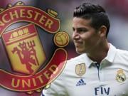 """Bóng đá - James đến MU: Mourinho """"bật"""" sếp, ghế nóng nguy hiểm"""