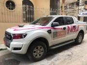 """Tin tức trong ngày - Trích xuất camera tìm người sơn chữ """"NGU"""" lên xe Ford Ranger"""