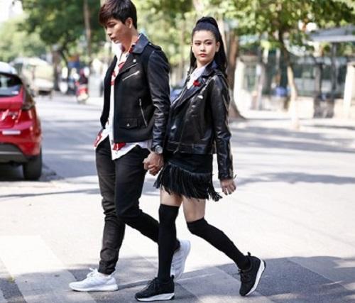 """Trương Quỳnh Anh - Tim """"mặc chung"""" áo, thân mật trên phố - 5"""