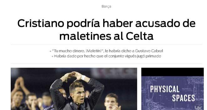 Nghi án Celta Vigo giúp Real: Ronaldo đối mặt rắc rối, Zidane im tiếng - 1