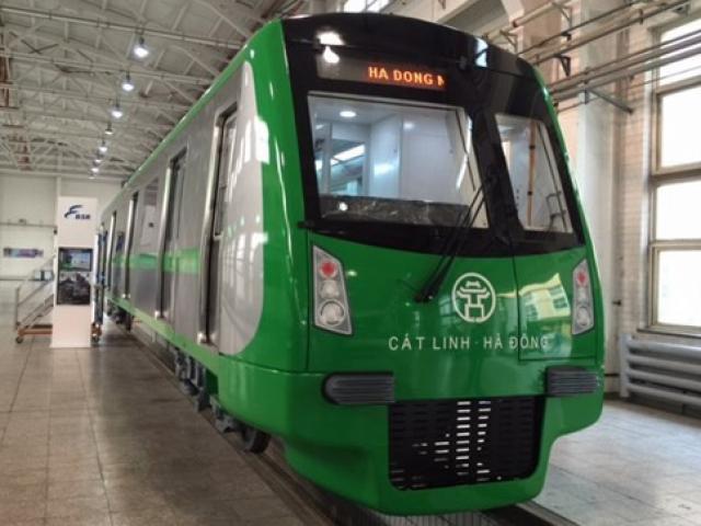 Cận cảnh đoàn tàu và nhà ga đường sắt trên cao sắp đưa vào hoạt động - 11