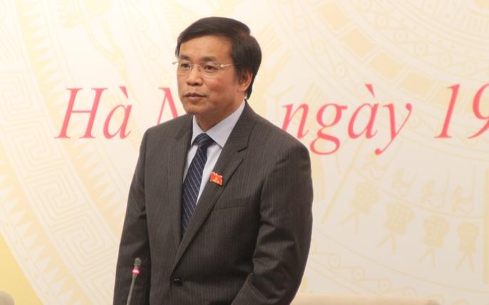 Tổng thư ký Quốc hội nêu lý do ông Đinh La Thăng về đoàn Thanh Hóa - 1