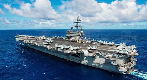 """Mỹ """"siết"""" Triều Tiên bằng hai đội tàu sân bay hạt nhân - 2"""