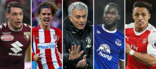 """Chuyển nhượng MU: 4 """"sát thủ"""" trong tầm ngắm Mourinho - 1"""