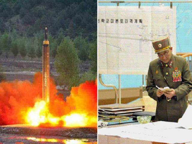 """Bản đồ """"tử thần"""" tiết lộ 4 nơi Triều Tiên nhắm nã tên lửa?"""