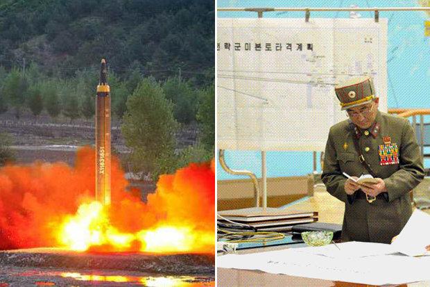 """Bản đồ """"tử thần"""" tiết lộ 4 nơi Triều Tiên nhắm nã tên lửa? 1"""