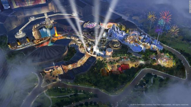 Khám phá 10 công viên giải trí của tương lai - 5