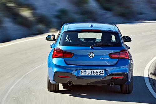 BMW 1-Series 2017: Nâng cấp nhẹ, bắt mắt hơn - ảnh 4