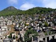 """Du lịch - Câu chuyện bí mật về thị trấn """"ma"""" hoang phế ở Thổ Nhĩ kỳ"""