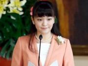 Dung nhan công chúa Nhật từ bỏ địa vị yêu thường dân