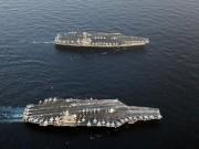 """Thế giới - Mỹ """"siết"""" Triều Tiên bằng hai đội tàu sân bay hạt nhân"""