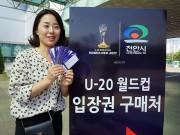 Bóng đá - Fan nữ Hàn Quốc kéo cả trăm anh em cổ vũ U20 Việt Nam