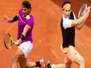 """Nadal - Thiem:  """" Bò tót """"  gặp đấu sĩ cao tay (Tứ kết Rome Masters)"""