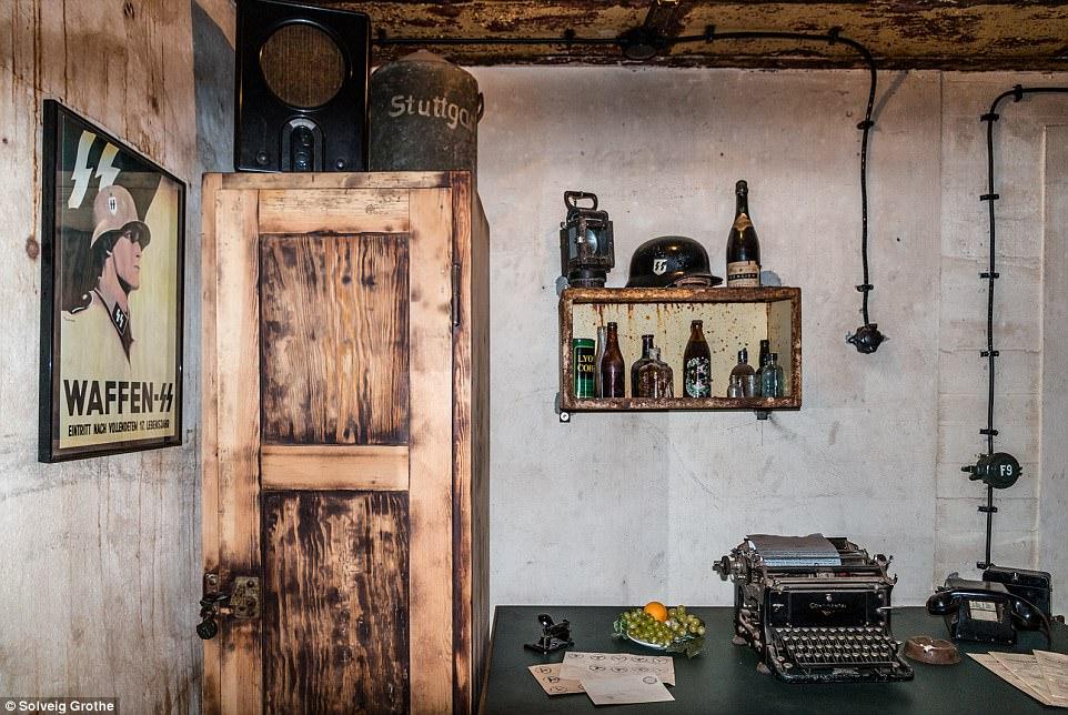 Choáng ngợp thành phố bí mật dưới lòng đất của Hilter ở Hà Lan - ảnh 7